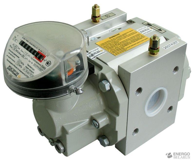 ротационный счетчик газа RVG g100